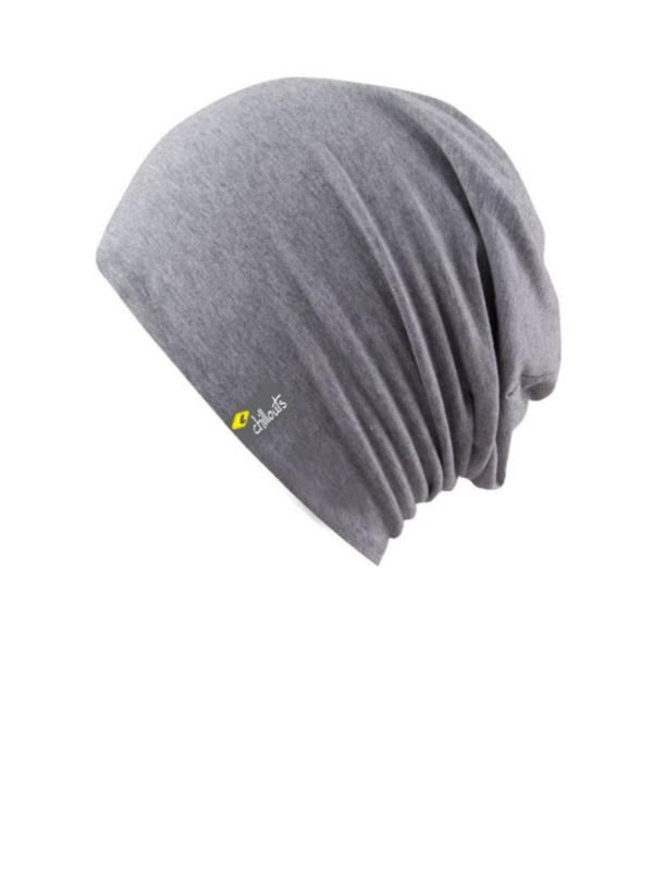 Top Aca Grey met UV bescherming - chemo mutsje / alopecia mutsje