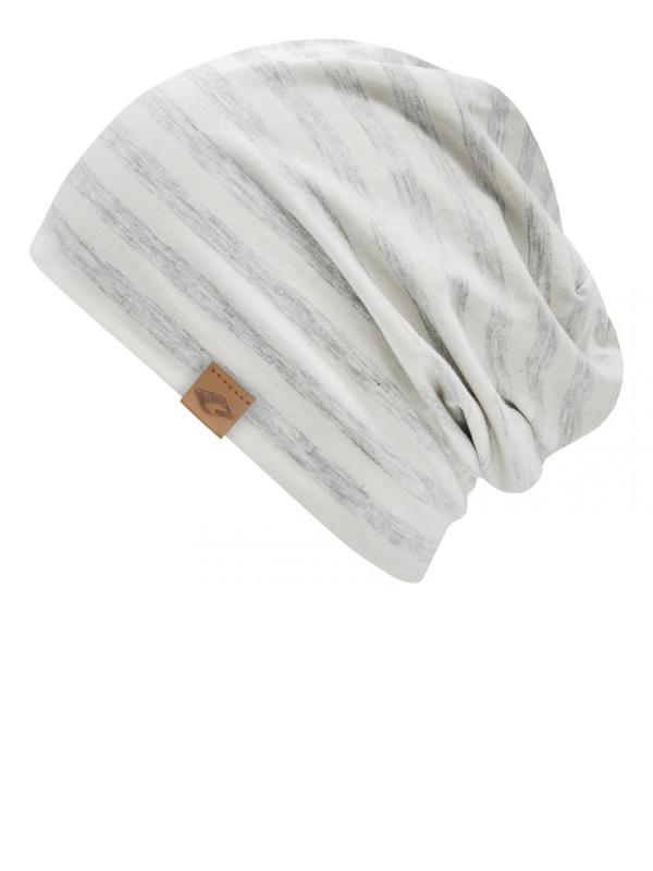 chemo mutsjes dames Mooihoofd - Beanie Cambridge grey Stripes