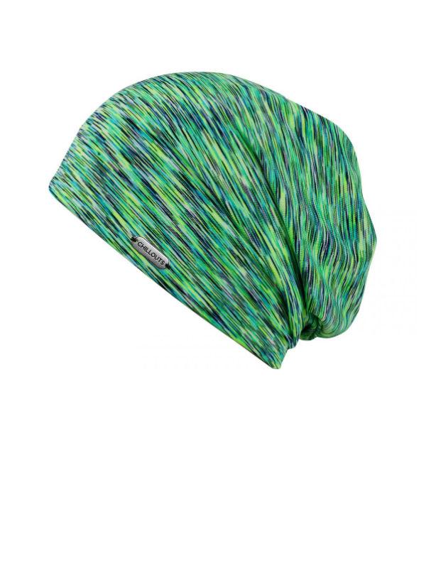 Chemo mutsjes dames Mooi Hoofd - Beanie Helsinki groen met UV-Bescherming