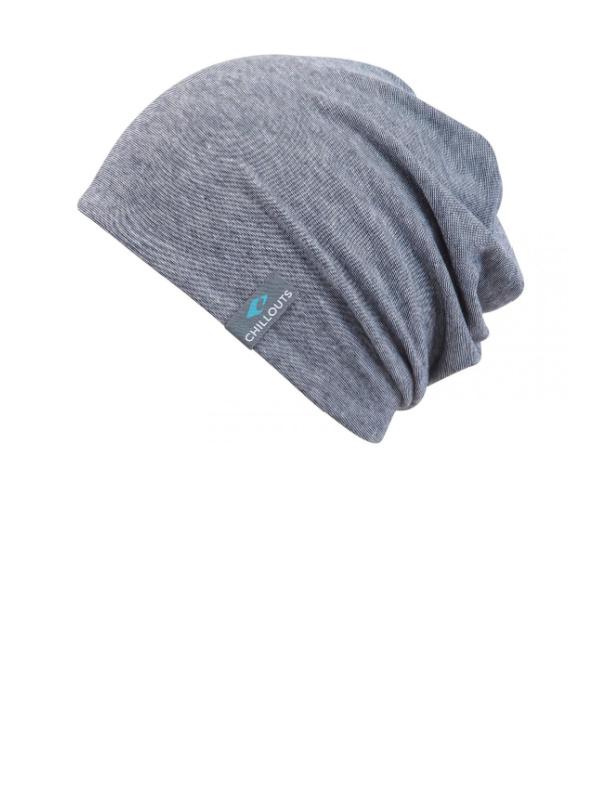 Chemo mutsjes Mooihoofd - Beanie Tiflis blauw