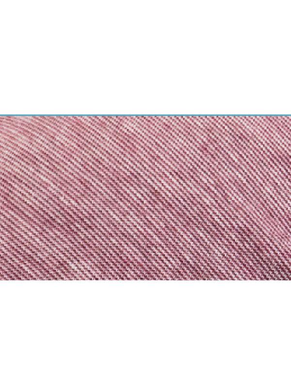 Detail van Beanie Tiflis rood - chemo mutsje / alopecia mutsje