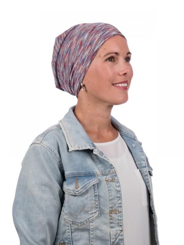 Beanie Helli met UV-Bescherming - chemo mutsje / alopecia mutsje