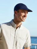 Pet B.B. Bennett - Blauw - mannen chemo pet /  alopecia hoofdbedekking