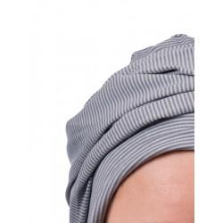 Top PLUS grijs/blue stiped