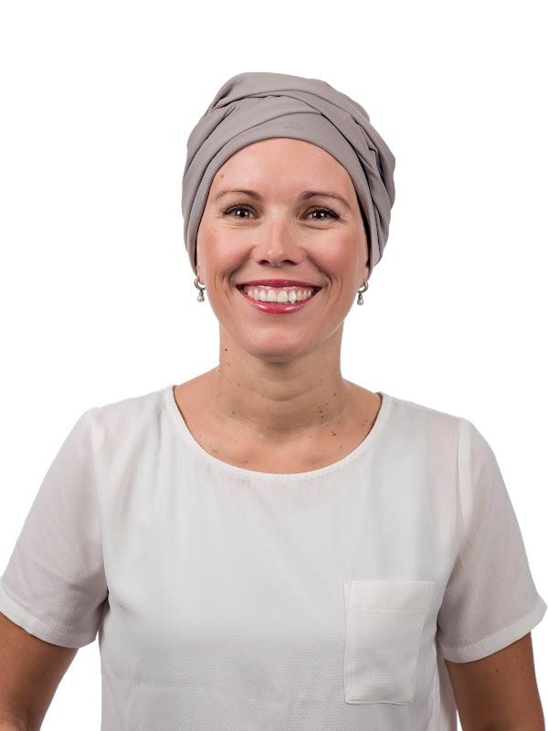 Top PLUS SilverGrey - mutsje voor kanker / alopecia mutsje