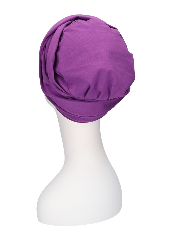 Top PLUS paars - mooihoofd - chemo muts winkel