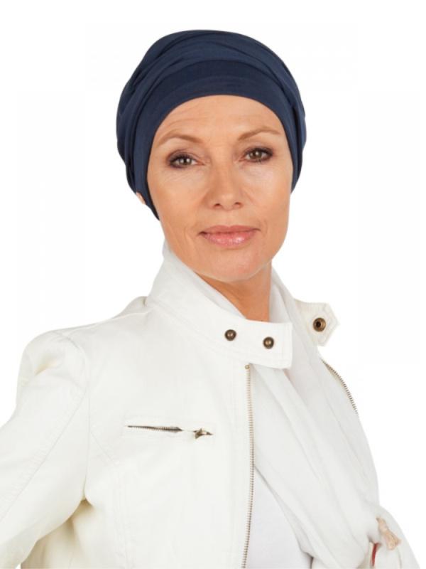Top PLUS Navy - mutsje voor chemo of alopecia