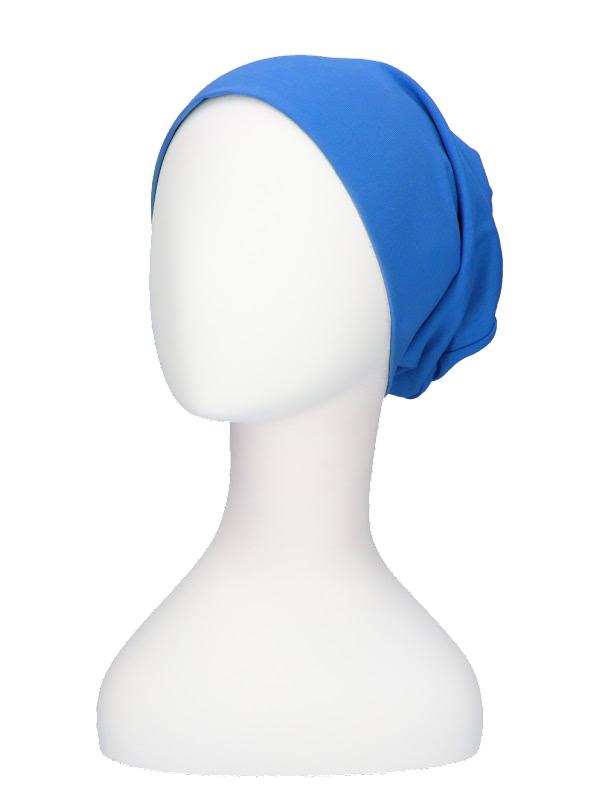 Top Tio hemelsblauw - Mooihoofd - chemo mutsje / alopecia mutsje