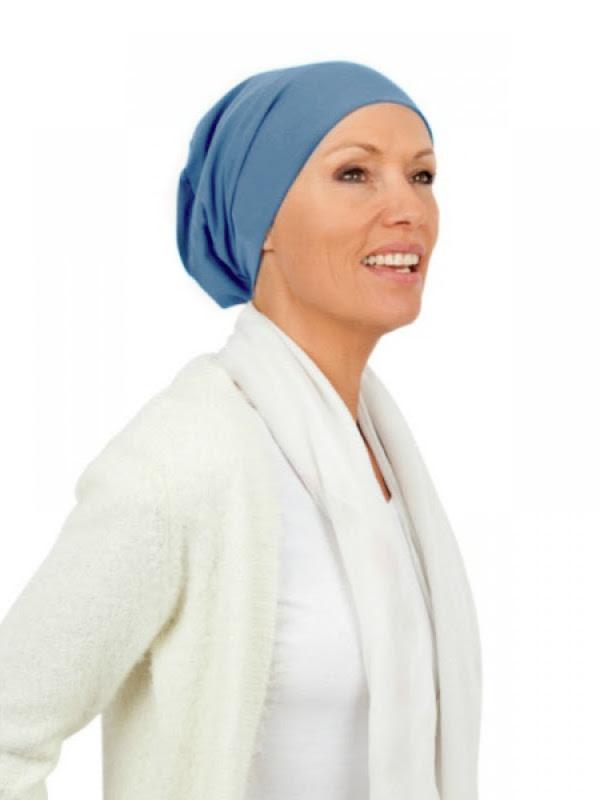 Chemo mutsjes Mooihoofd - Top Tio blauw