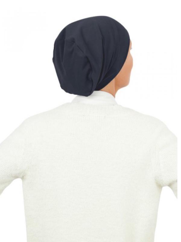 Top Tio navy - chemo mutsjes / alopecia mutsje