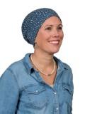 Chemo mutsjes Mooihoofd - Top Tio Blue Dots