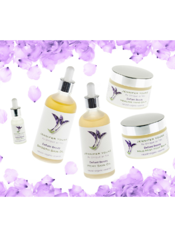 Defiant Beauty Itchy Skin Oil - te koop bij Mooihoofd specialist in chemo mutsjes en cosmetica