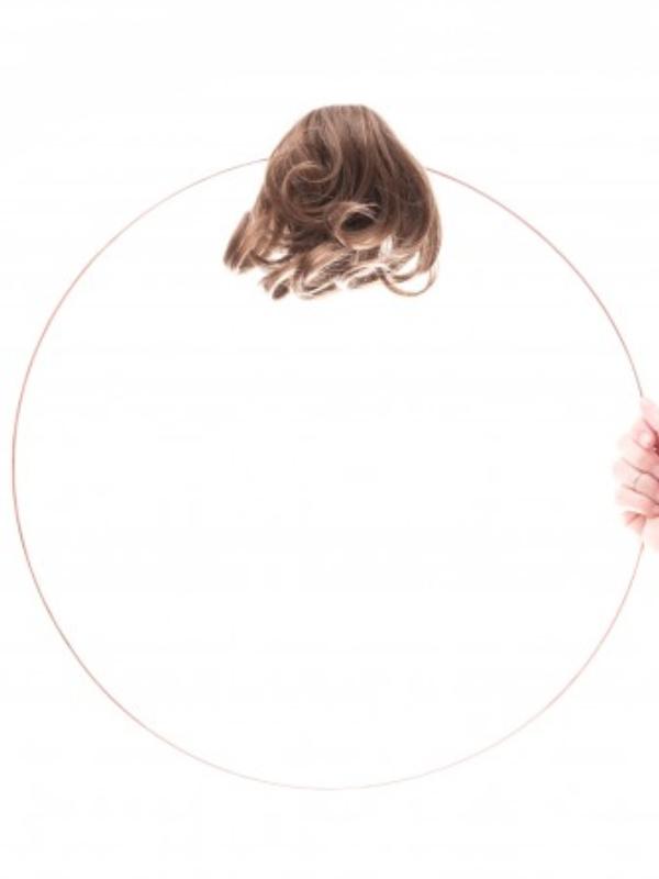 Les Franjynes - krullende pony - Barbara - chemo mutsje met haar