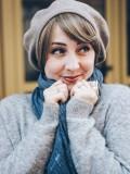 Les Franjynes - universele pony - Jodie - haarwerk tijdens chemotherapie met chemo mutsje
