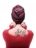 Turban Vintage Stripped - chemo mutsje / alopecia mutsje