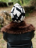 Turban Vintage Chilali - chemo mutsje / alopecia mutsje