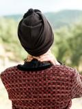 Turban Vintage Vlad - chemo mutsje / alopecia mutsje
