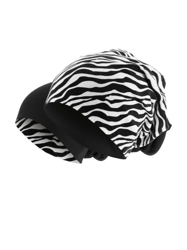 Beanie printed Zebra
