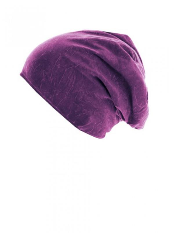 Top stone magenta - chemomutsje / alopecia hoofdbedekking