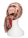 Sjaal-band Sofia Rood - chemo hoofddoek / alopecia sjaal