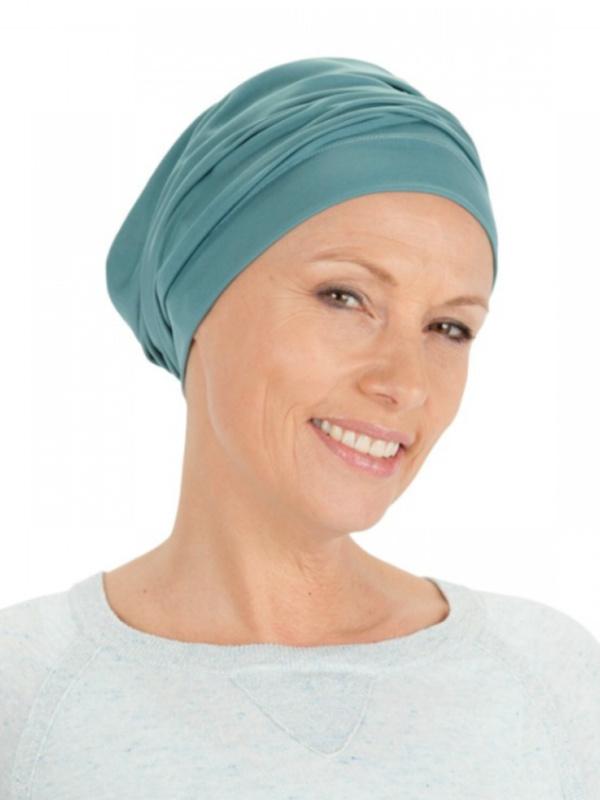 Comfortabel mutsje Iris Sea - chemotherapie mutsje / alopecia mutsje