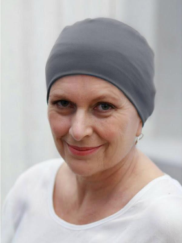 Slaapmutsje Lee Grijs ThermoCool - chemo mutsje / alopecia mutsje