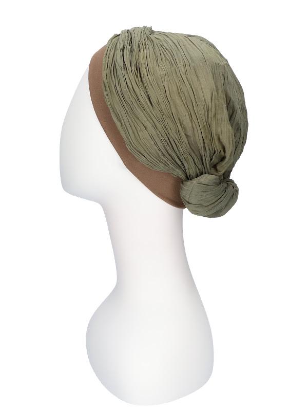 Top Mano V - chemo mutsje / alopecia mutsje