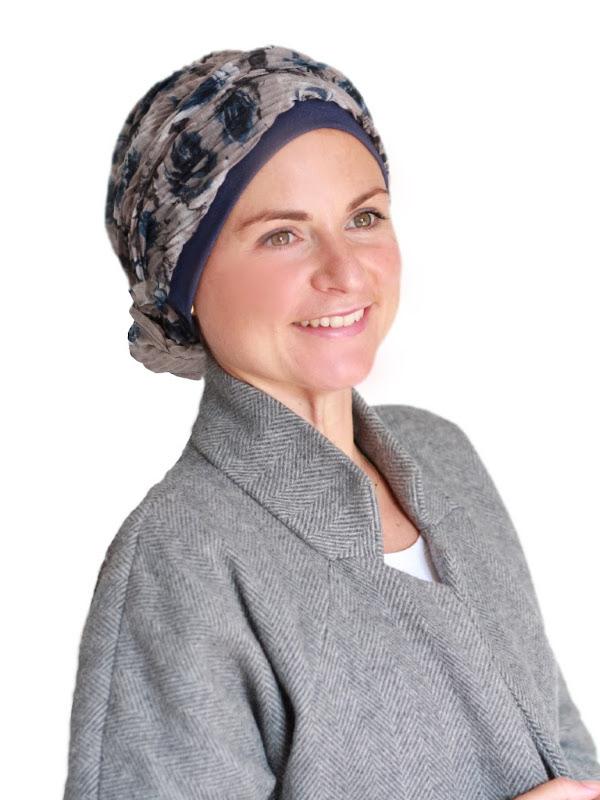 Top Mano Roses N - chemo mutsje / alopecia mutsje