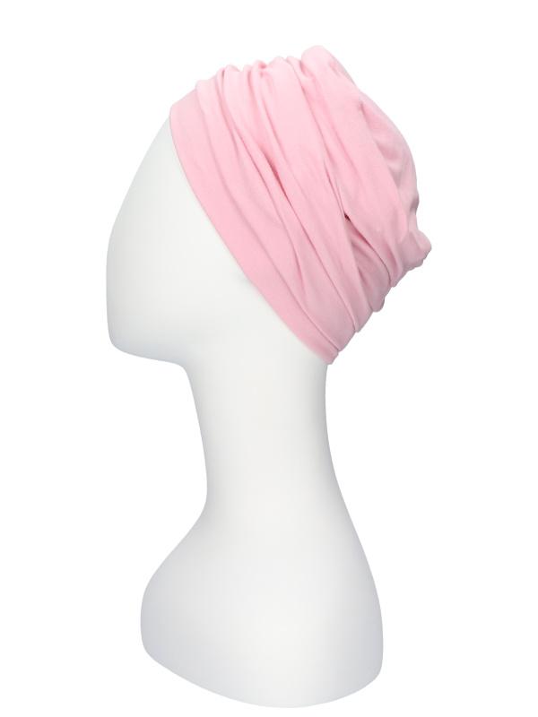 Top Noa roze - chemo mutsje / alopecia mutsje