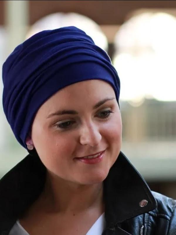 Top Noa navy - chemotherapie mutsje / alopecia mutsje