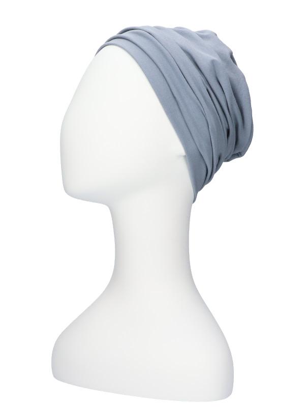 Top Noa blauwgrijs- chemotherapie mutsje / alopecia mutsje