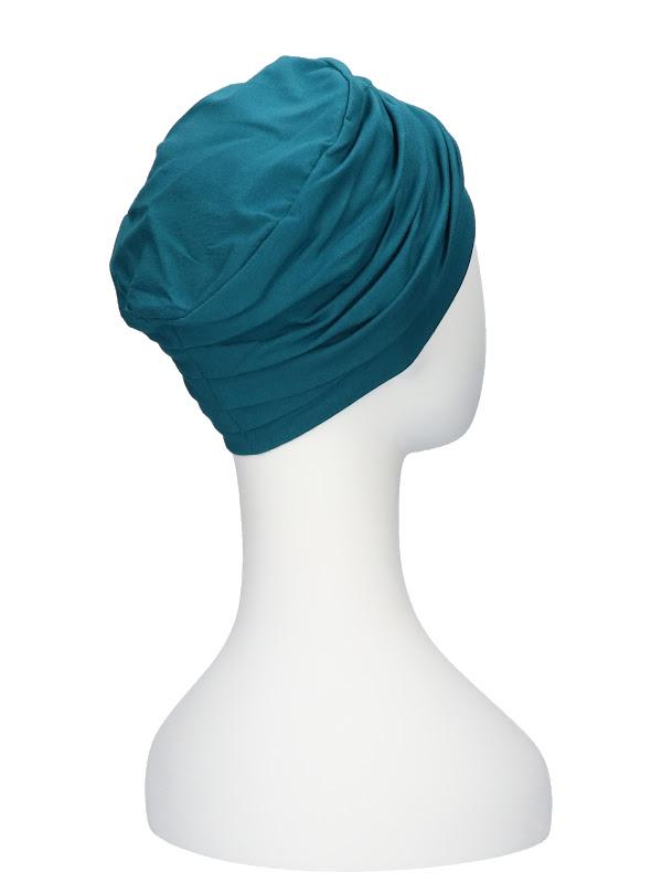 Top Noa turquoise - mutsje chemo / alopecia mutsje