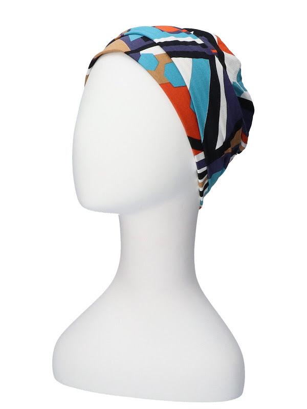 Noa Print - chemo muts / alopecia hoofdbedekking