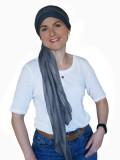 Sjaalmutsje Fusion Jeans - chemo hoofdsjaal / alopecia sjaal