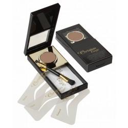 Wenkbrauw make-up bronze